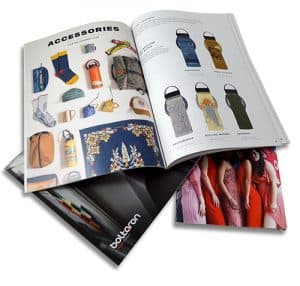 Printed Catalog Example Photo