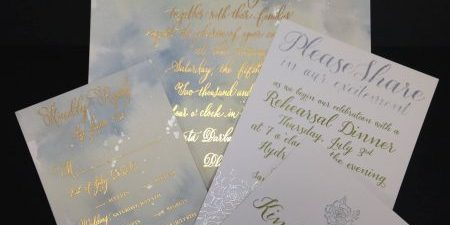 Let your next printed piece shine with foil stamping