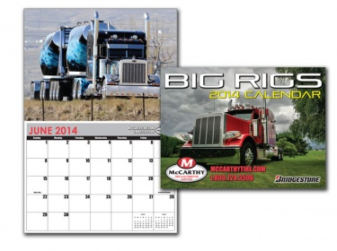 Stay in front of your customers 365 days a year with a custom printed calendar