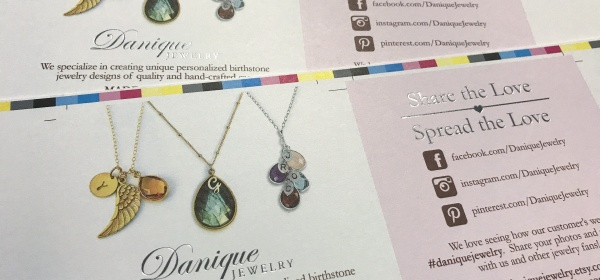 Design Tips for Die Cut Jewelry Tags